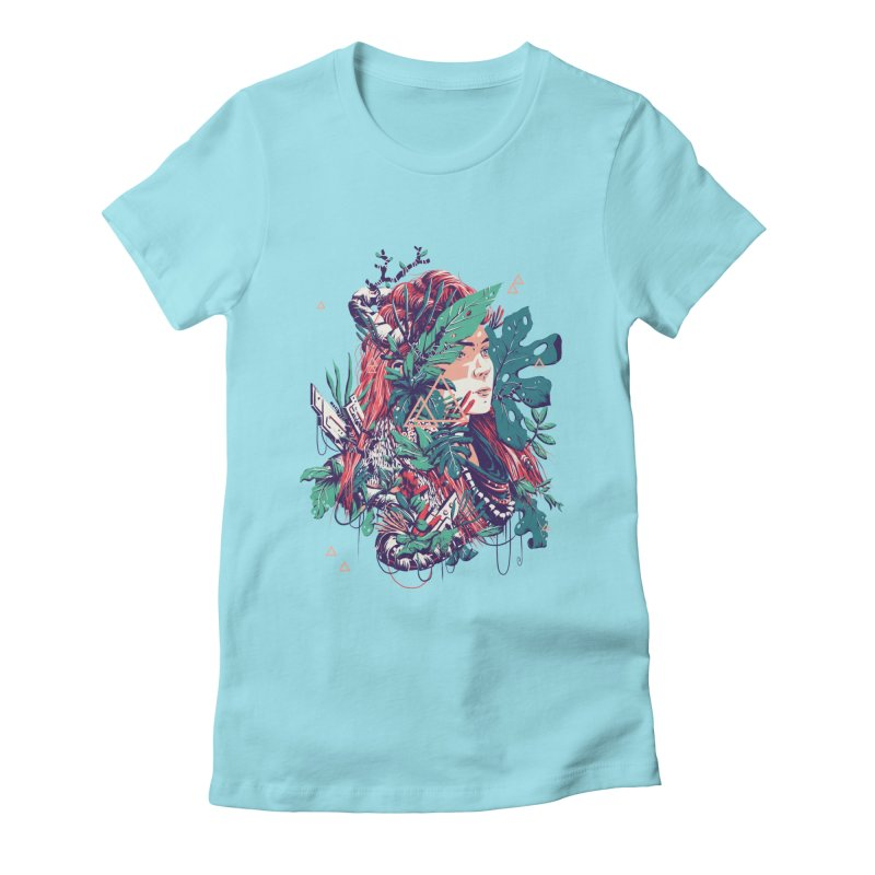 Aloy Women's Fitted T-Shirt by MB's Tees