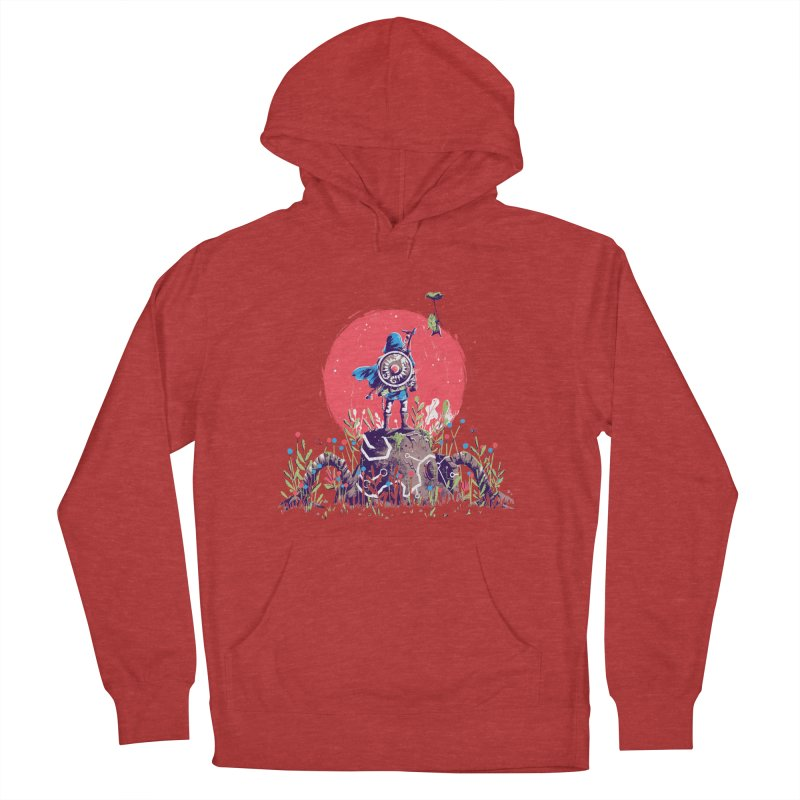 Breath of the Wild Men's French Terry Pullover Hoody by MB's Tees