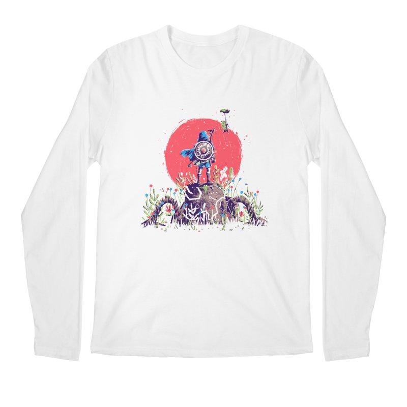 Breath of the Wild Men's Regular Longsleeve T-Shirt by MB's Tees