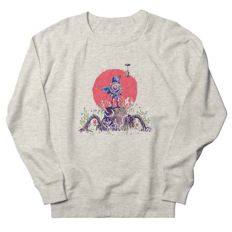 Breath of the Wild Women's French Terry Sweatshirt by MB's Tees