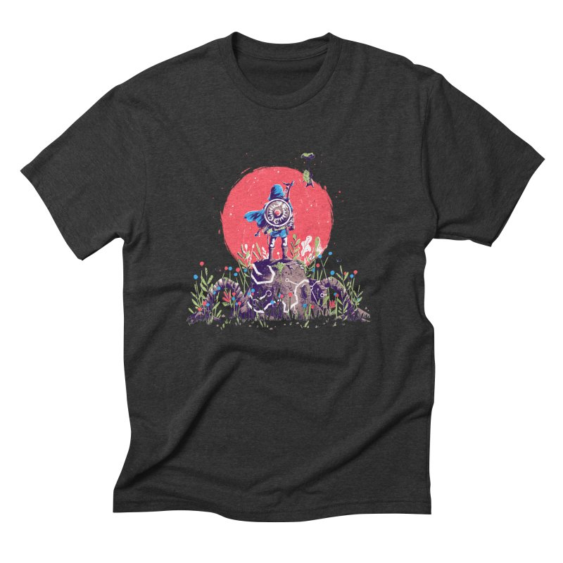 Breath of the Wild Men's Triblend T-Shirt by MB's Tees