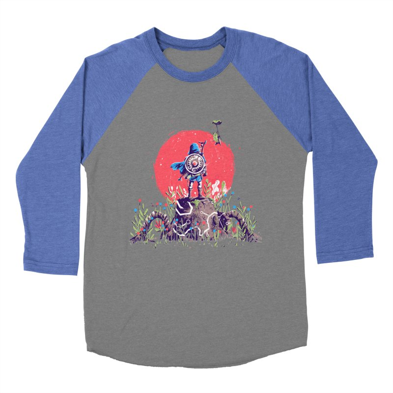 Breath of the Wild Women's Baseball Triblend Longsleeve T-Shirt by MB's Collection