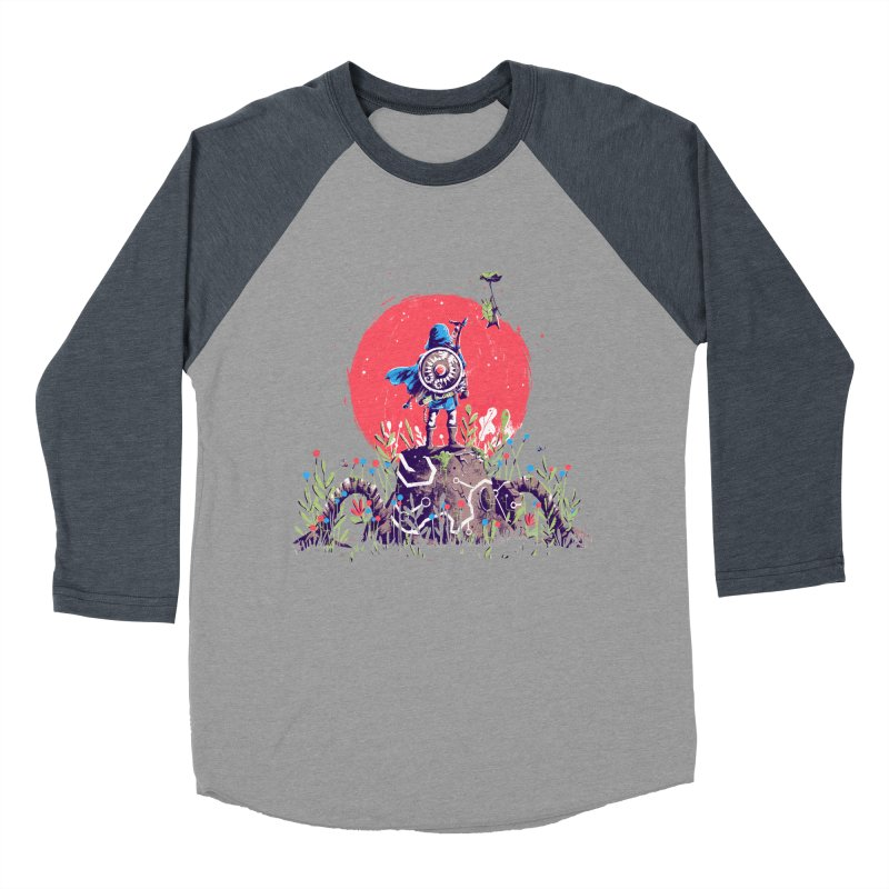 Breath of the Wild Men's Baseball Triblend Longsleeve T-Shirt by MB's Collection