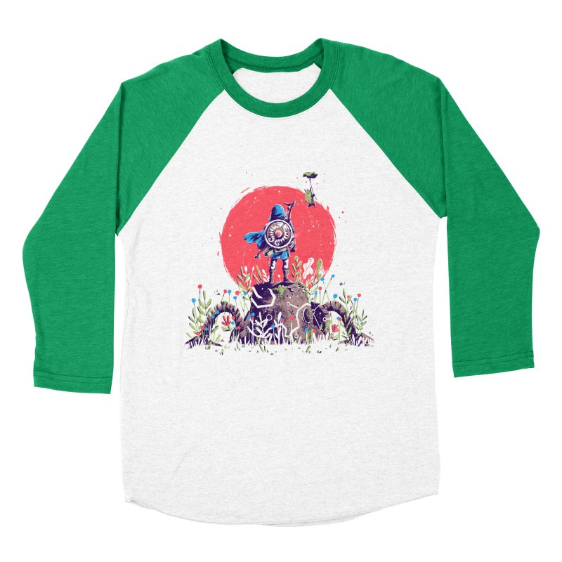 Breath of the Wild Men's Baseball Triblend Longsleeve T-Shirt by MB's Tees