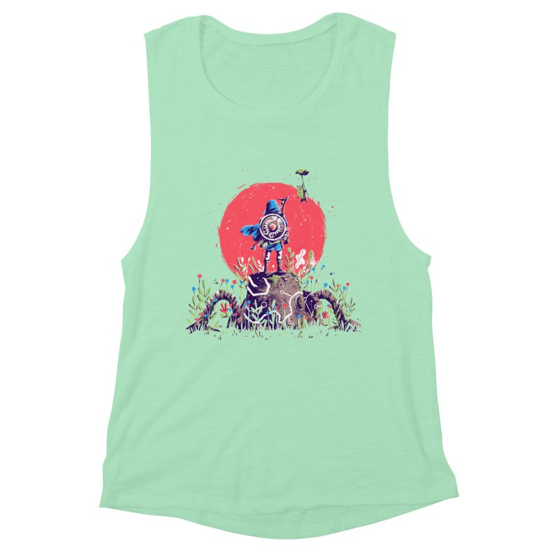 Breath of the Wild Women's Muscle Tank by MB's Collection