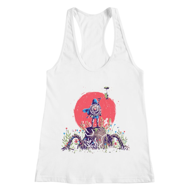 Breath of the Wild Women's Racerback Tank by MB's Collection