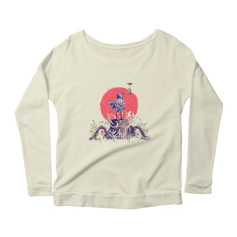 Breath of the Wild Women's Scoop Neck Longsleeve T-Shirt by MB's Tees