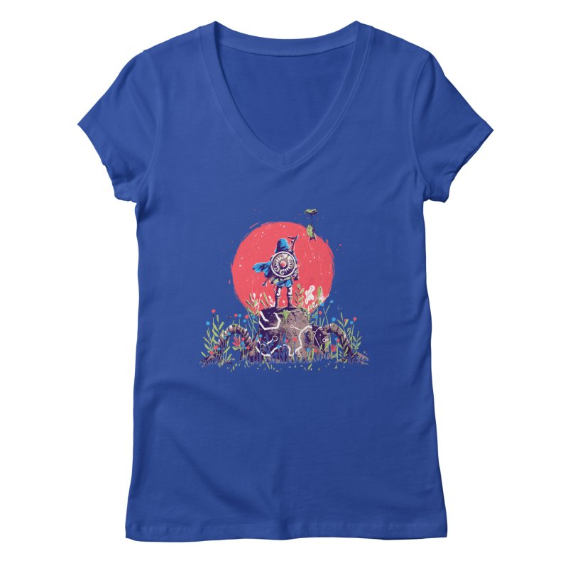 Breath of the Wild Women's Regular V-Neck by MB's Collection