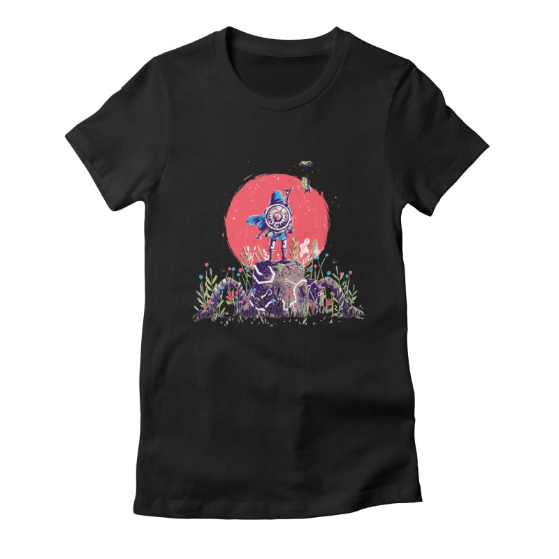 Breath of the Wild Women's Fitted T-Shirt by MB's Collection