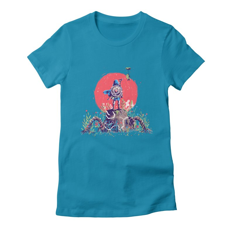 Breath of the Wild Women's Fitted T-Shirt by MB's Tees