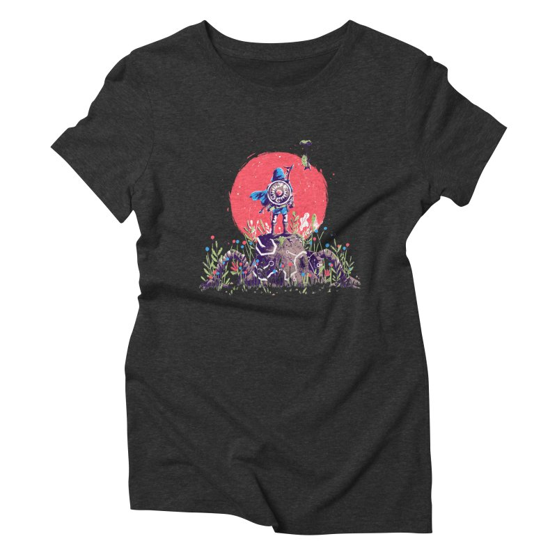 Breath of the Wild Women's Triblend T-Shirt by MB's Tees