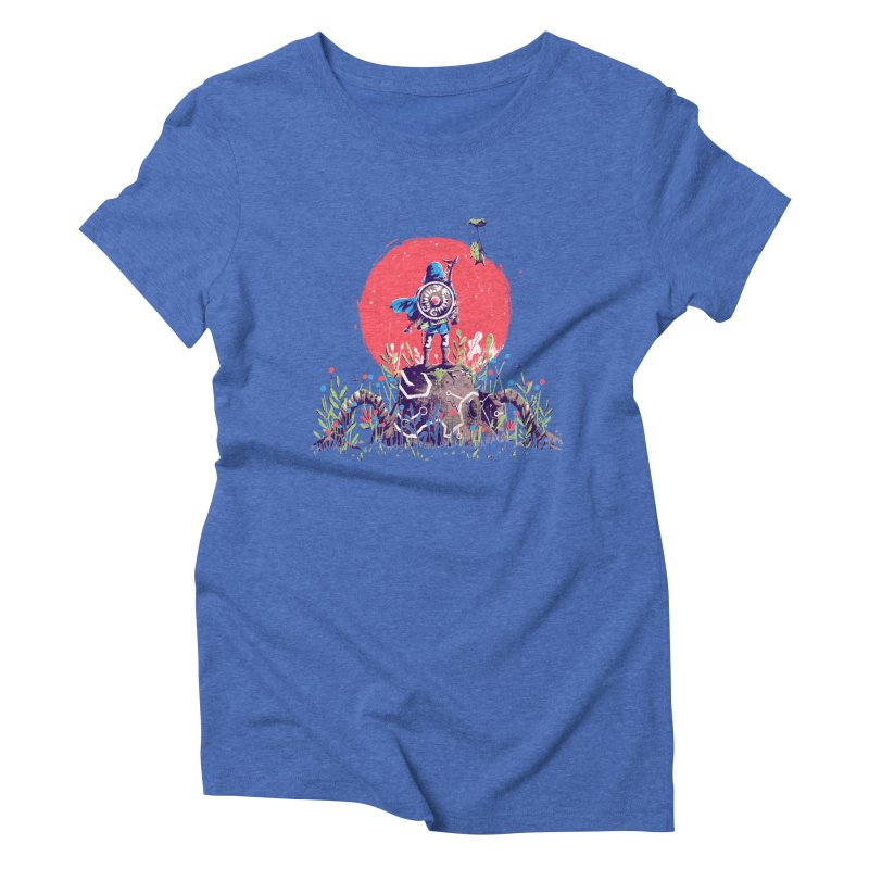 Breath of the Wild Women's Triblend T-Shirt by MB's Collection