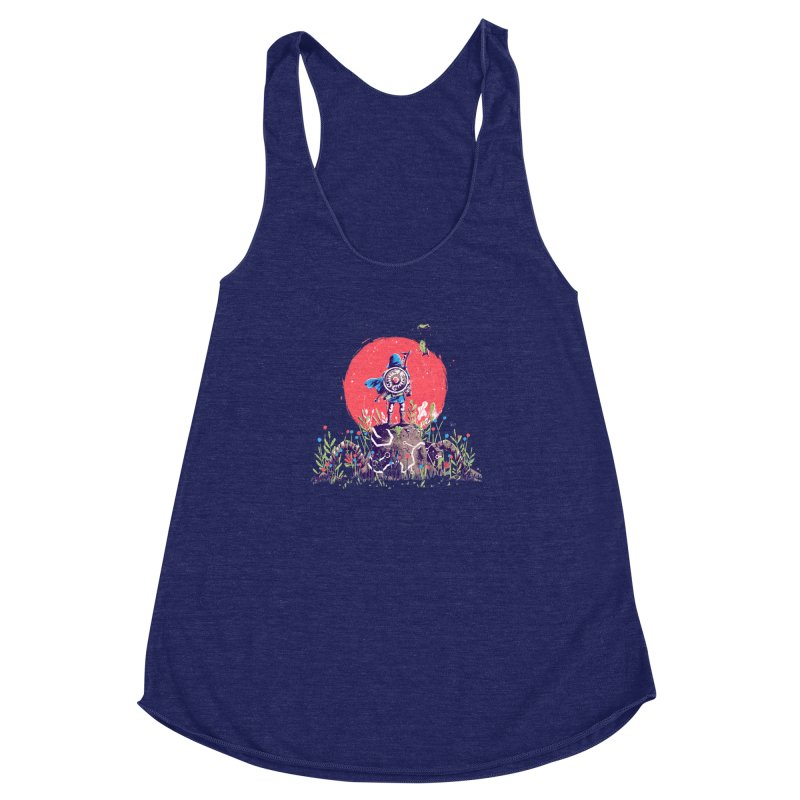 Breath of the Wild Women's Racerback Triblend Tank by MB's Tees