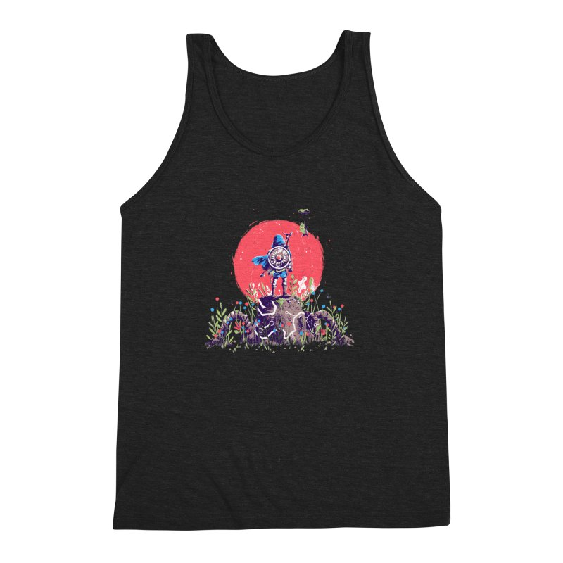 Breath of the Wild Men's Triblend Tank by MB's Tees