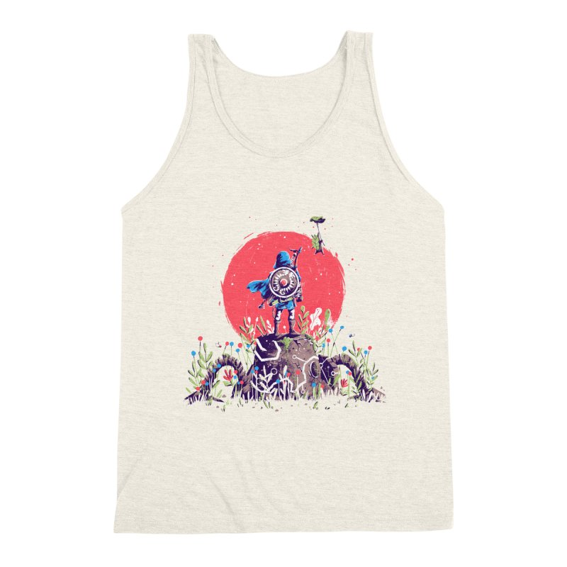 Breath of the Wild Men's Triblend Tank by MB's Collection