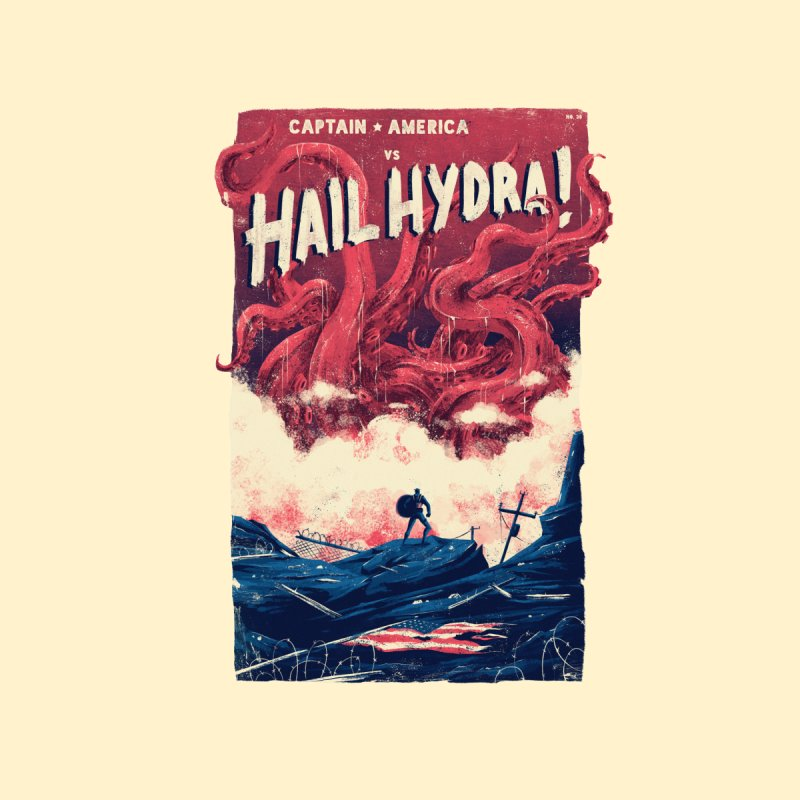 Hail Hydra Men's T-Shirt by MB's Tees