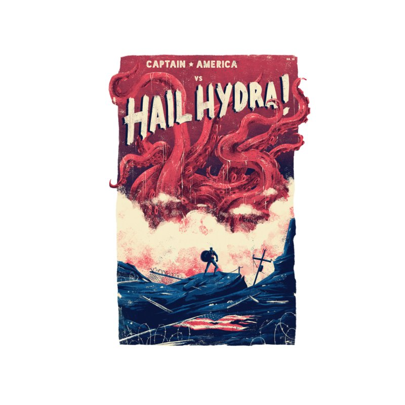 Hail Hydra Men's V-Neck by MB's Collection
