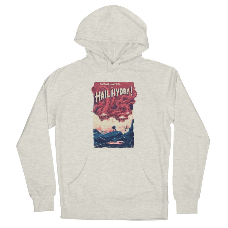 Hail Hydra Women's French Terry Pullover Hoody by MB's Collection