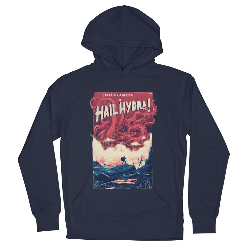 Hail Hydra Women's French Terry Pullover Hoody by MB's Tees