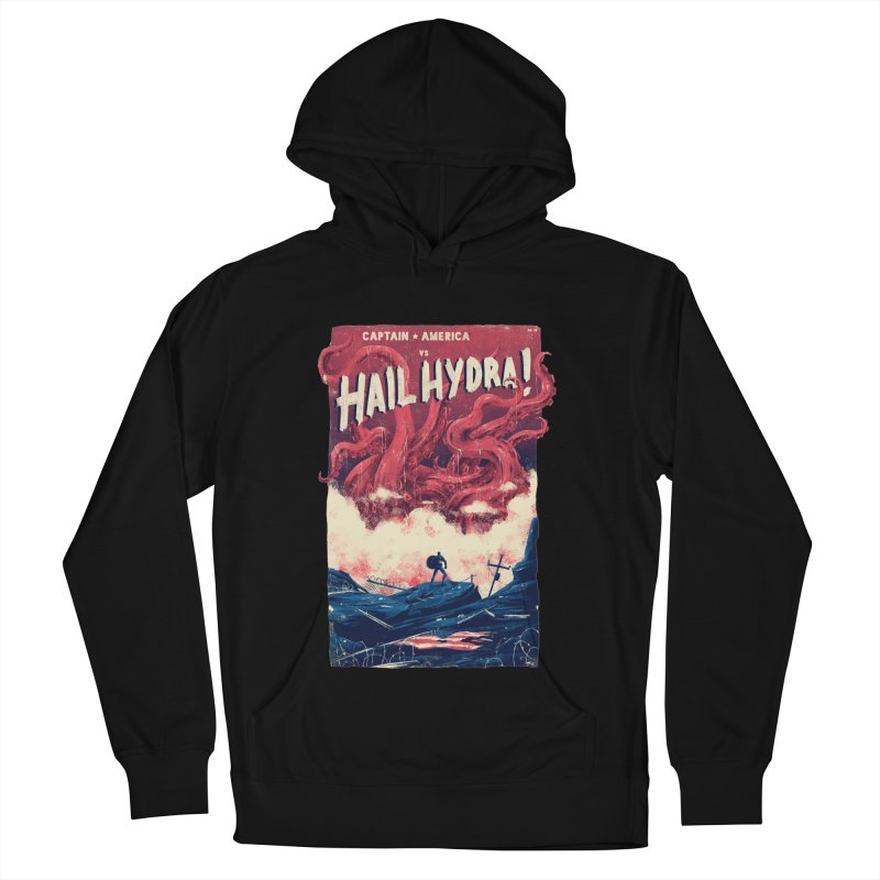 Hail Hydra Men's French Terry Pullover Hoody by MB's Tees