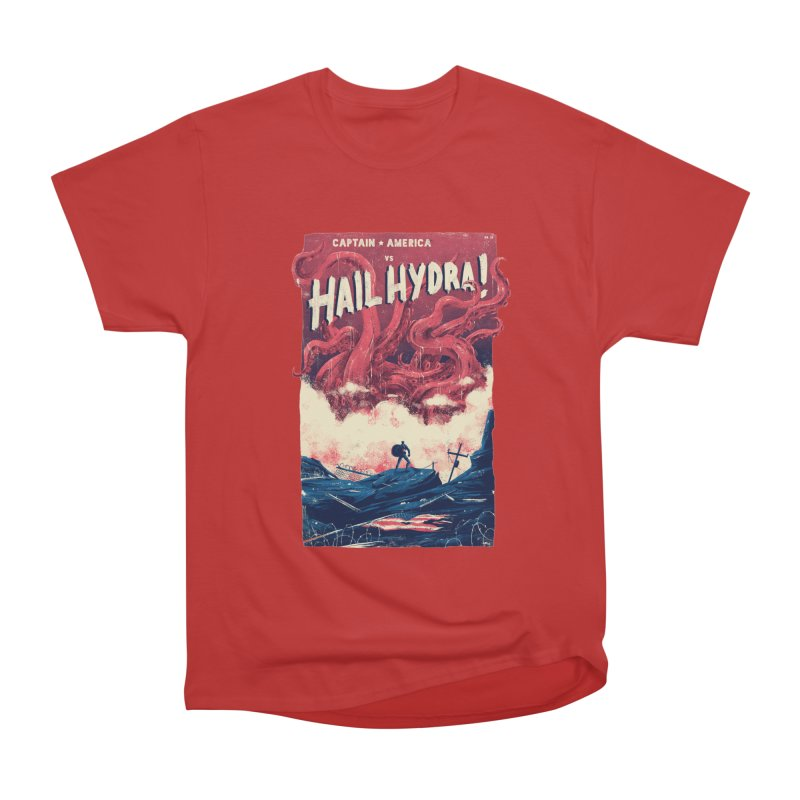 Hail Hydra Men's Heavyweight T-Shirt by MB's Tees