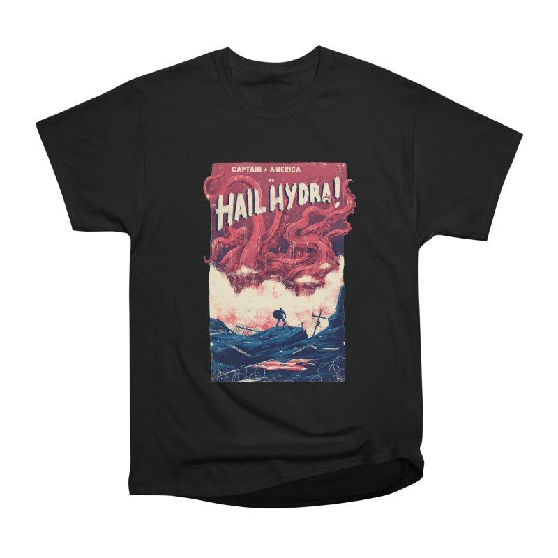 Hail Hydra Women's Heavyweight Unisex T-Shirt by MB's Tees