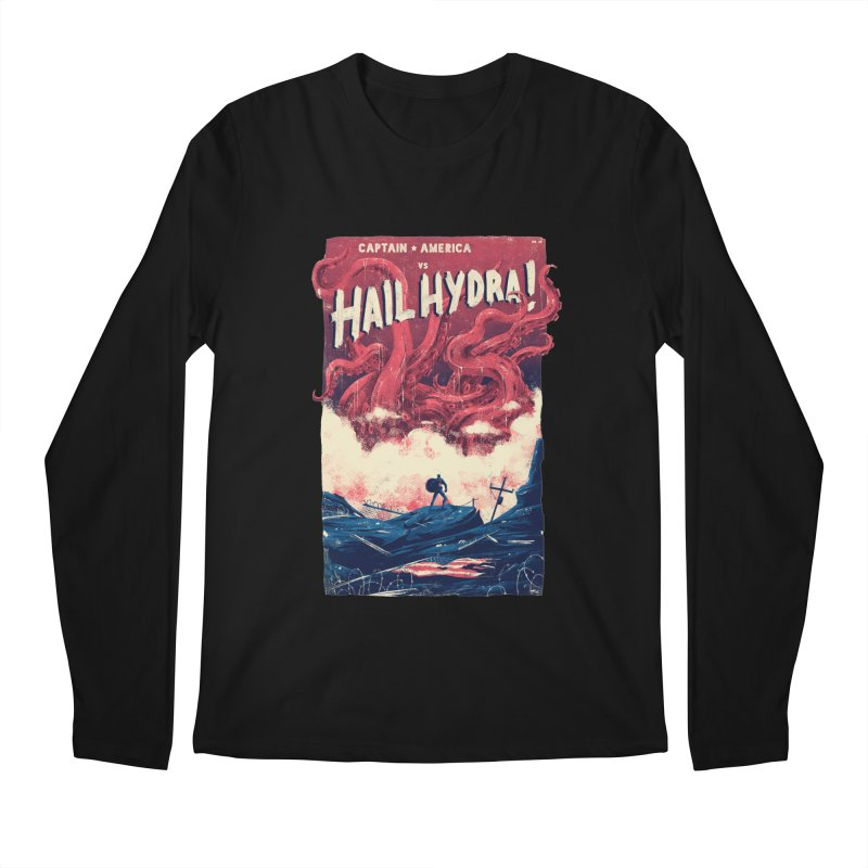 Hail Hydra Men's Regular Longsleeve T-Shirt by MB's Collection