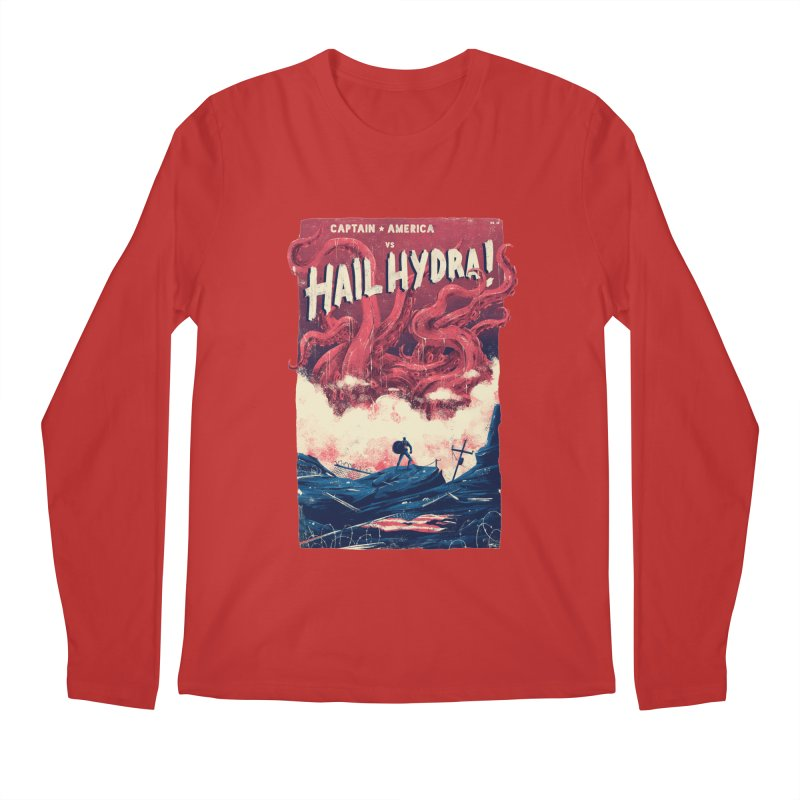 Hail Hydra Men's Regular Longsleeve T-Shirt by MB's Tees