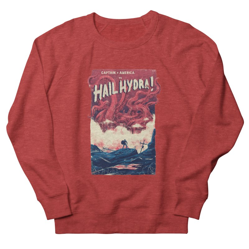 Hail Hydra Women's French Terry Sweatshirt by MB's Tees