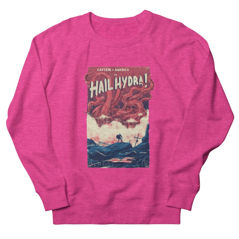 Hail Hydra Women's French Terry Sweatshirt by MB's Collection
