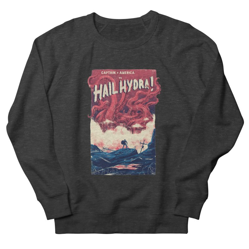 Hail Hydra Men's French Terry Sweatshirt by MB's Collection