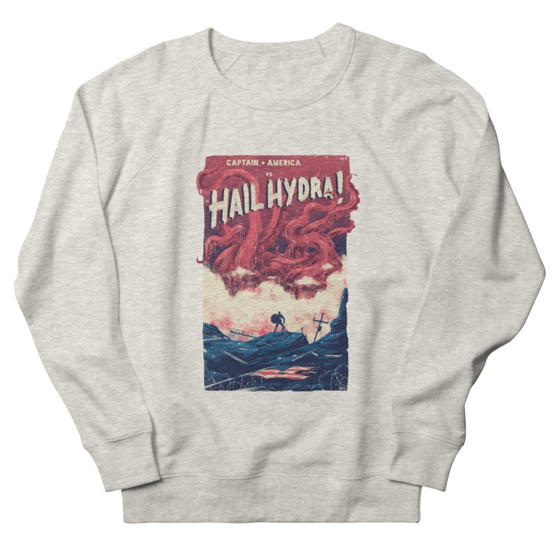 Hail Hydra Men's French Terry Sweatshirt by MB's Tees