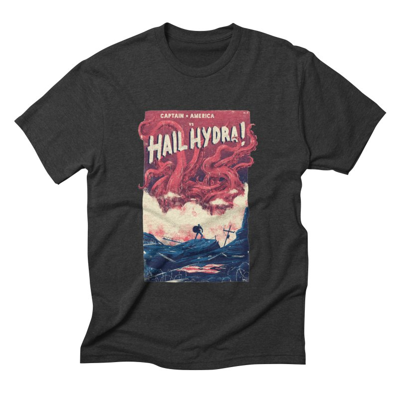 Hail Hydra Men's Triblend T-Shirt by MB's Tees