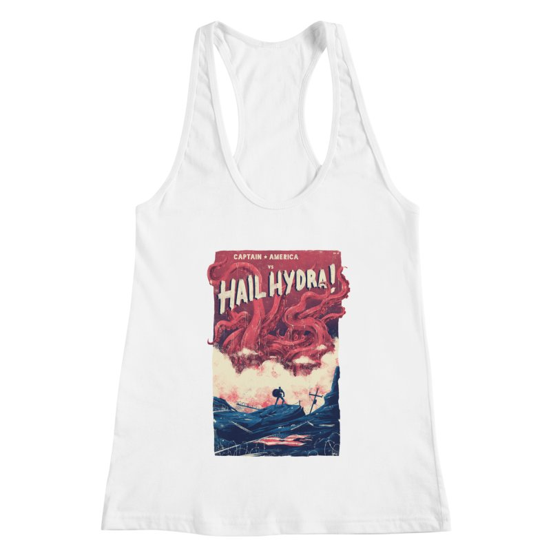 Hail Hydra Women's Racerback Tank by MB's Collection