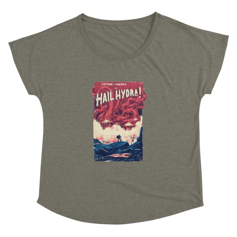Hail Hydra Women's Dolman Scoop Neck by MB's Tees
