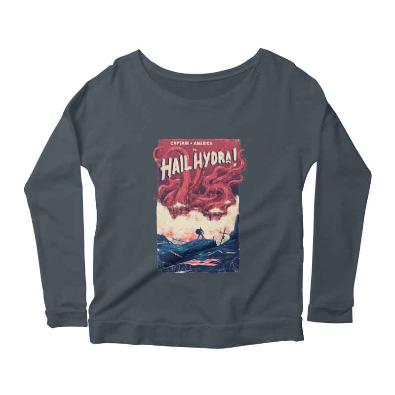 Hail Hydra Women's Scoop Neck Longsleeve T-Shirt by MB's Collection
