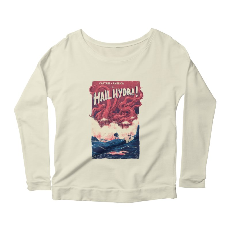 Hail Hydra Women's Scoop Neck Longsleeve T-Shirt by MB's Tees
