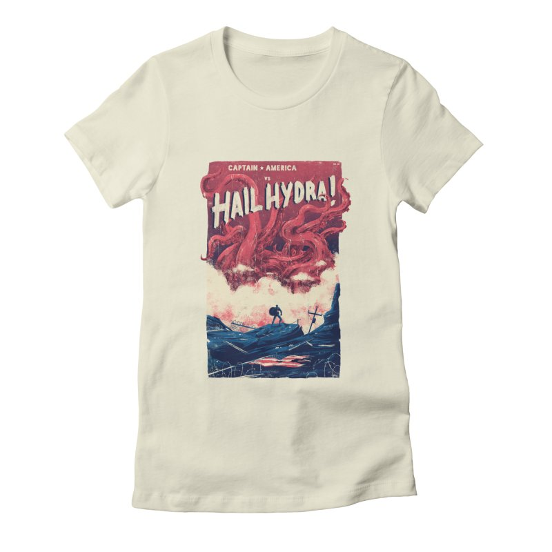 Hail Hydra Women's Fitted T-Shirt by MB's Collection