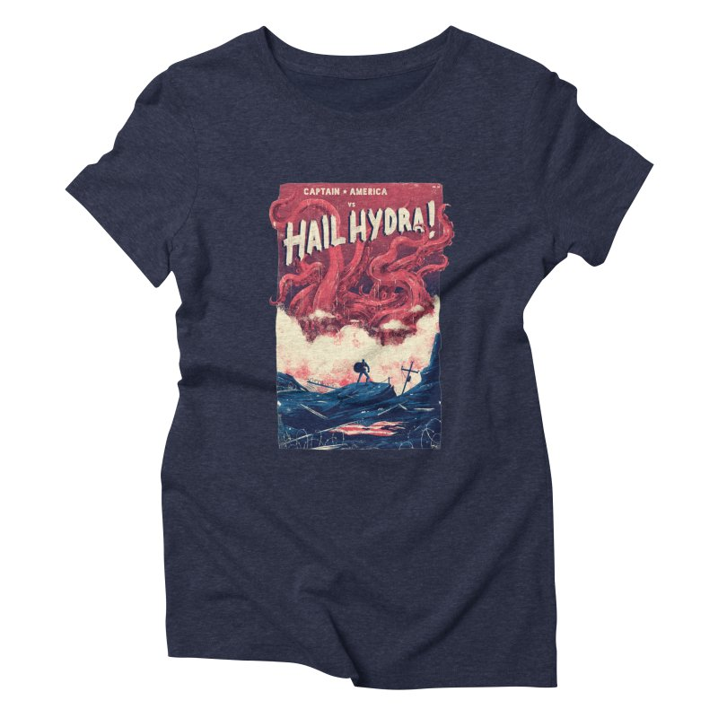 Hail Hydra Women's Triblend T-Shirt by MB's Tees