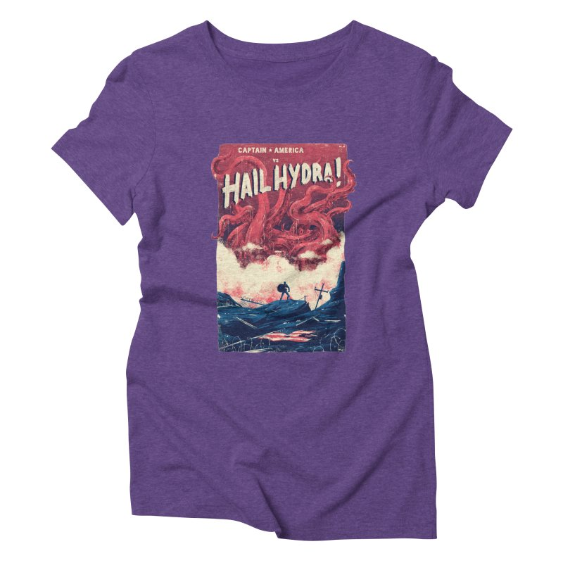 Hail Hydra Women's Triblend T-Shirt by MB's Collection