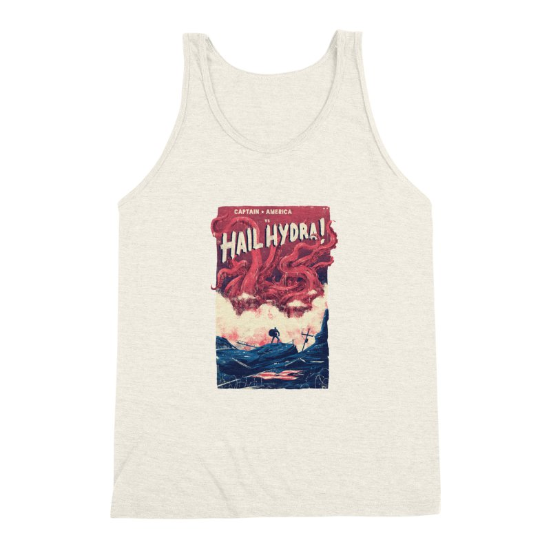 Hail Hydra Men's Triblend Tank by MB's Tees