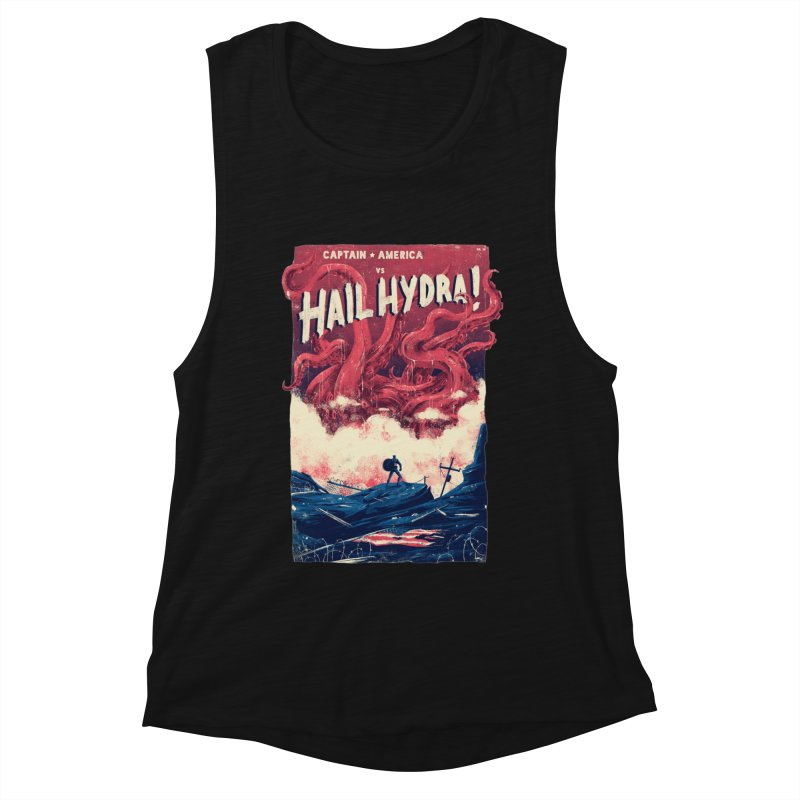Hail Hydra Women's Muscle Tank by MB's Collection