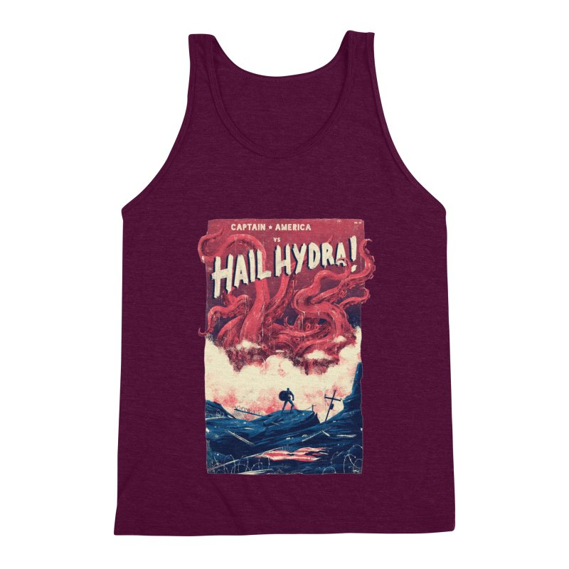 Hail Hydra Men's Triblend Tank by MB's Collection