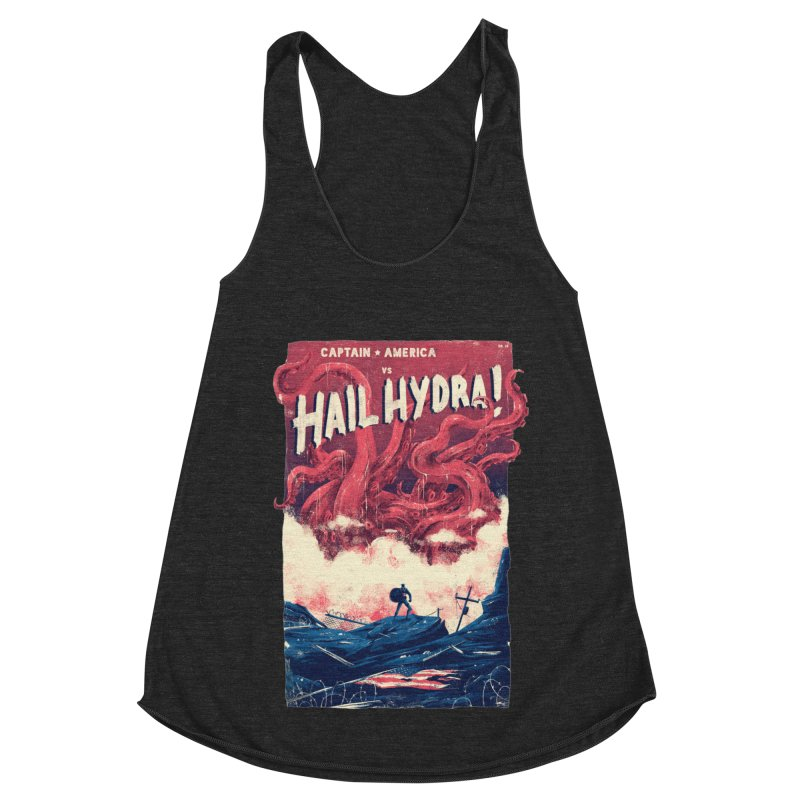 Hail Hydra Women's Racerback Triblend Tank by MB's Collection