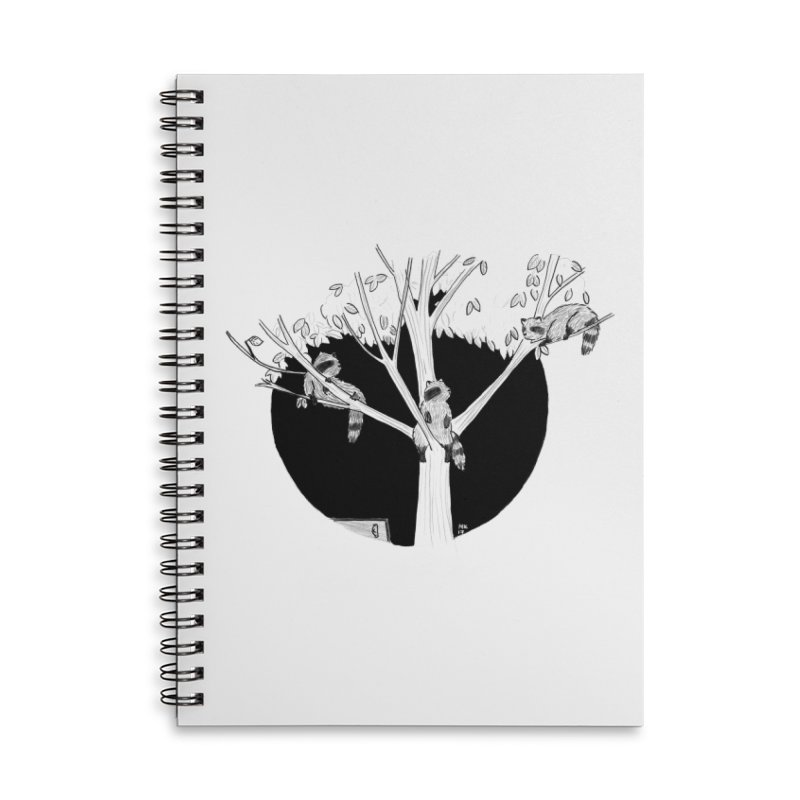 Toronto Saturday Night Accessories Lined Spiral Notebook by Mariel Kelly