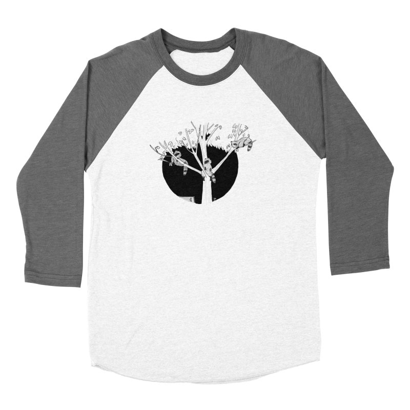 Toronto Saturday Night Men's Baseball Triblend Longsleeve T-Shirt by Mariel Kelly