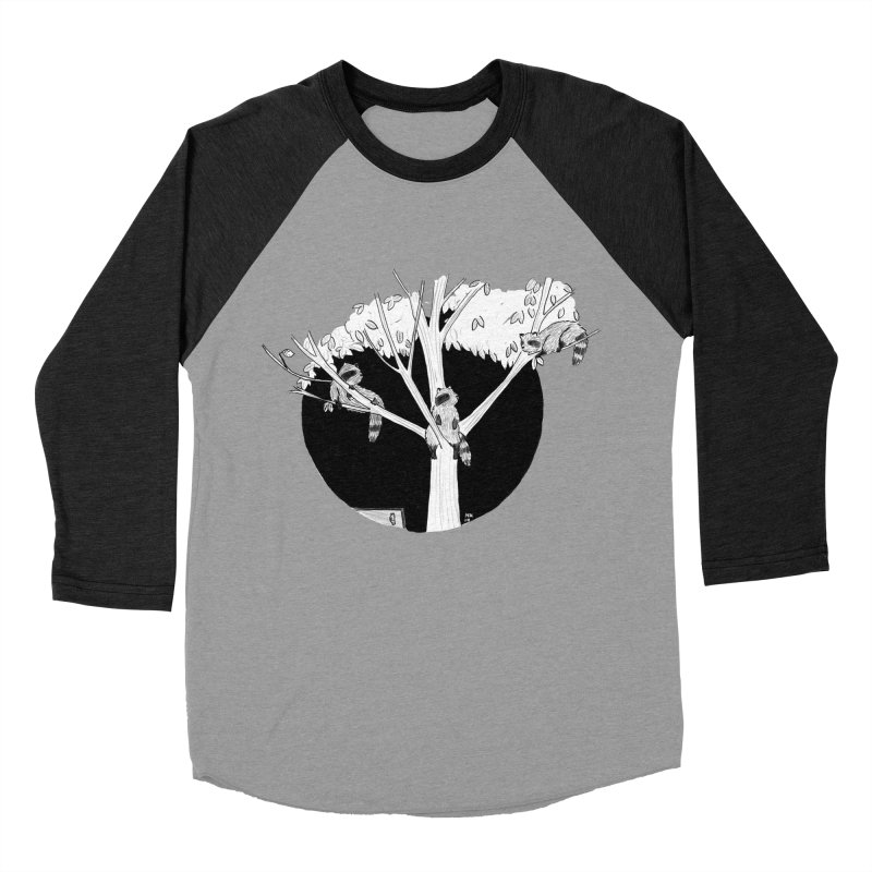 Toronto Saturday Night Men's Baseball Triblend Longsleeve T-Shirt by marielashlinn's Artist Shop