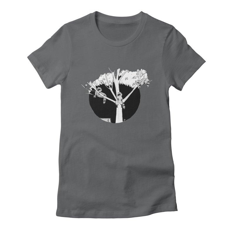 Toronto Saturday Night Women's Fitted T-Shirt by marielashlinn's Artist Shop
