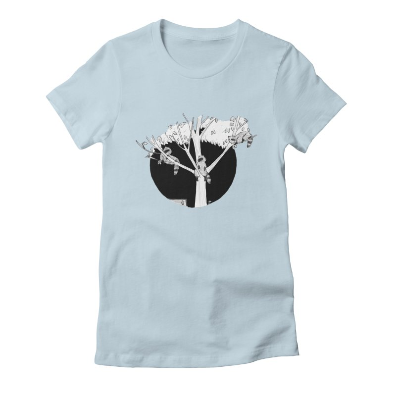 Toronto Saturday Night Women's Fitted T-Shirt by Mariel Kelly