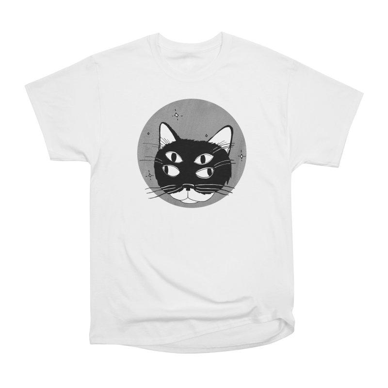 Cat Eyes Men's T-Shirt by Mariel Kelly